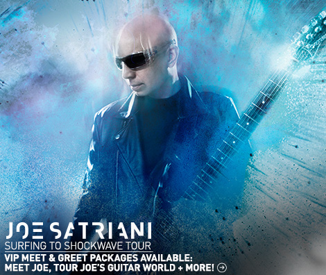 joe satriani tour vip meet greet upgrade packages. Black Bedroom Furniture Sets. Home Design Ideas